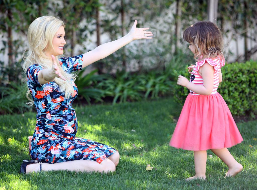 Holly Madison and Rainbow